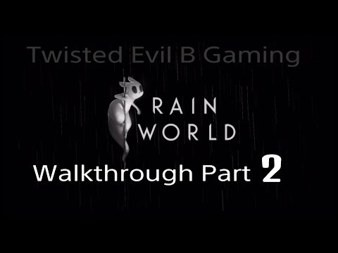 Rain World Walkthrough Part 2: Überleben lernen ( Industrial Complex - Garbage Wastes )