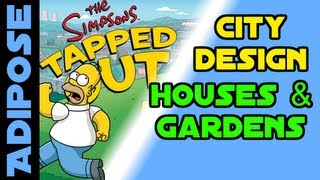 Simpsons Tapped Out-how To Design Your City-house Design