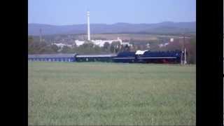 """498 104 """"Albatros"""" na trati č.141 ŽSR (Leopoldov-Kozárovce) ZM-závody-ZM-Prílepy"""