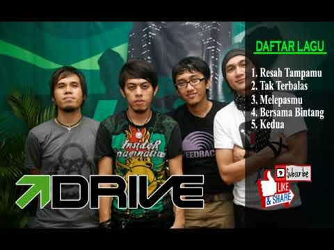 DRIVE BAND - 5 LAGU PILIHAN - MUSIK POP INDONESIA - THE BEST SONG
