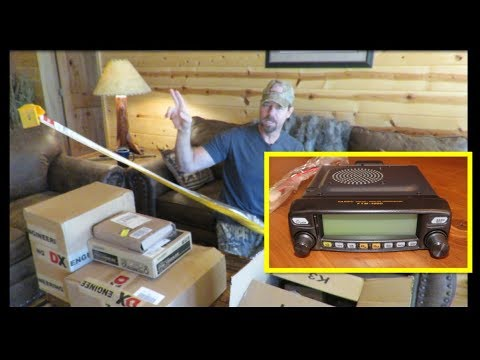 Ham Radio Equipment Un-boxing! Starting A New Setup From Scratch 10-21-18