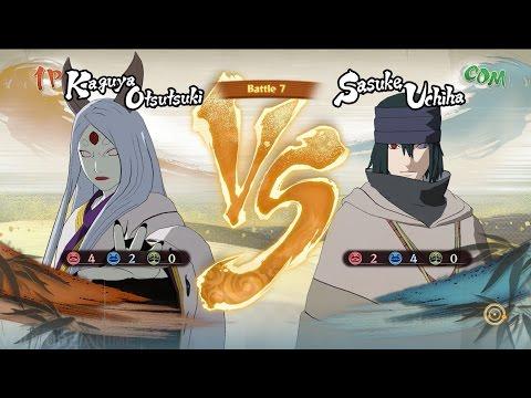 Kaguya Otsutsuki VS Sasuke Last Naruto Movie -Naruto Shippuden: Ultimate Ninja Storm 4 (60FPS)