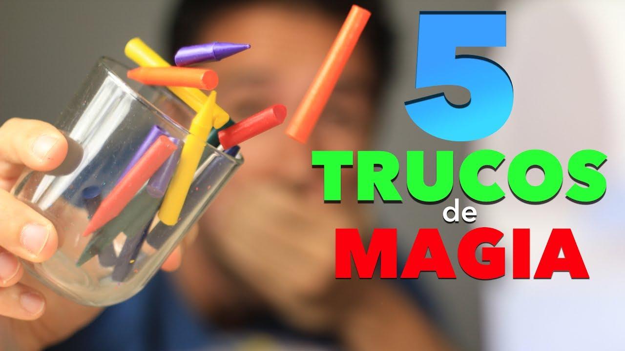 5 Trucos De Magia Para Ninos Muy Facil De Hacer Magia En Casa Youtube
