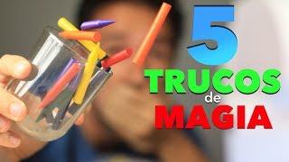 5 Trucos de Magia para Niños Muy Fácil de Hacer Magia en Casa