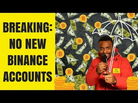 Breaking News: Binance Not Accepting New Customers | Mann Technik's Crypto Minute