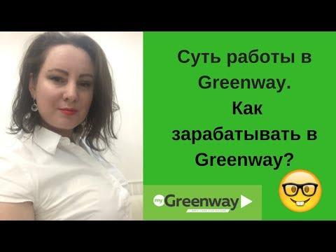Суть работы в Гринвей.  Бизнес с Greenway. Как зарабатывают в Greenway?