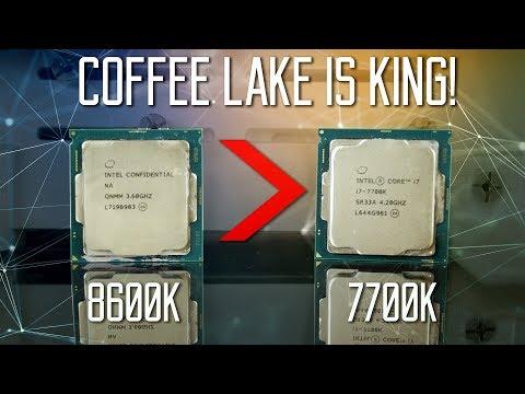 COFFEE LAKE IS HERE - RIP KABY LAKE & RYZEN? - Intel i5-8600K Review