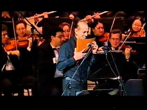 Zamfir with Cairo Symphony Orchestra - Cairo Opera House