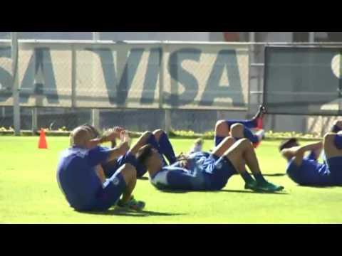 Paco Jémez ya impone entrenamiento al cien en Cruz Azul