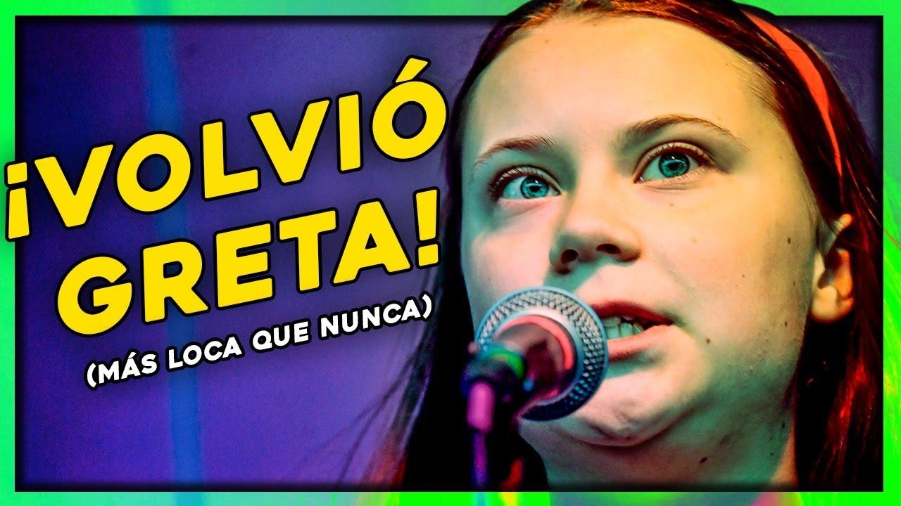Reacción en Vivo a Greta Thunberg en Youth 4 Climate