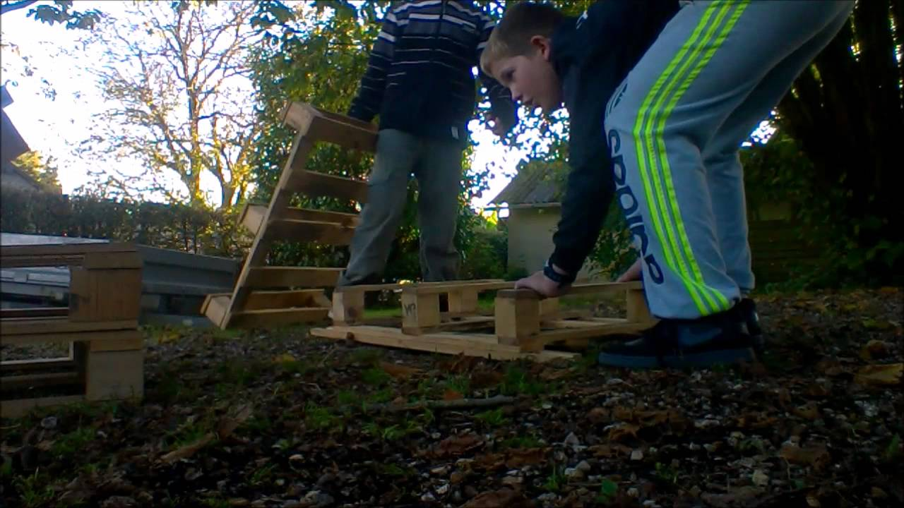 Comment construire un tremplin teste youtube - Construire une table en bois ...