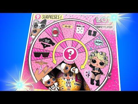LOL Sürpriz Confetti Pop 2. Dalga Tam Dolu Full Case 3 Bebek Challenge L.O.L. Wave2  Bidünya Oyuncak