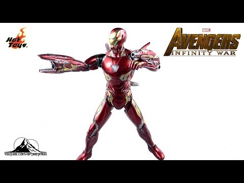 Hot Toys Avengers Infinity War IRON MAN MK L (50) Video Review