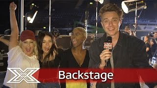 The X Factor Backstage with TalkTalk   Ft. The Girls and Boys through to Judges Houses
