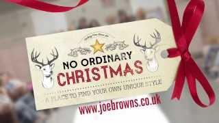 Joe Browns - No Ordinary Christmas Video. Thumbnail