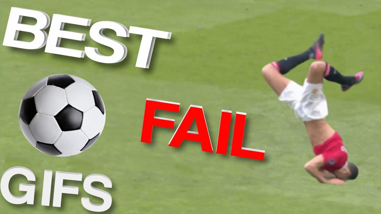 Soccer fails gif