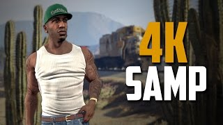 Играю в GTA SAMP в 4K и 120 FPS!