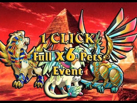 Hướng dẫn 1 Click hack full sidekick (pets) Event legendary mạnh nhất game EverWing facebook 2017