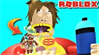 ESCAPE THE EVIL GIANT FAT GUY!! | The Weird Side of Roblox: Evil Giant Fat Guy Obby