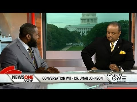 Roland Martin Goes One-On-One With Dr. Umar Johnson