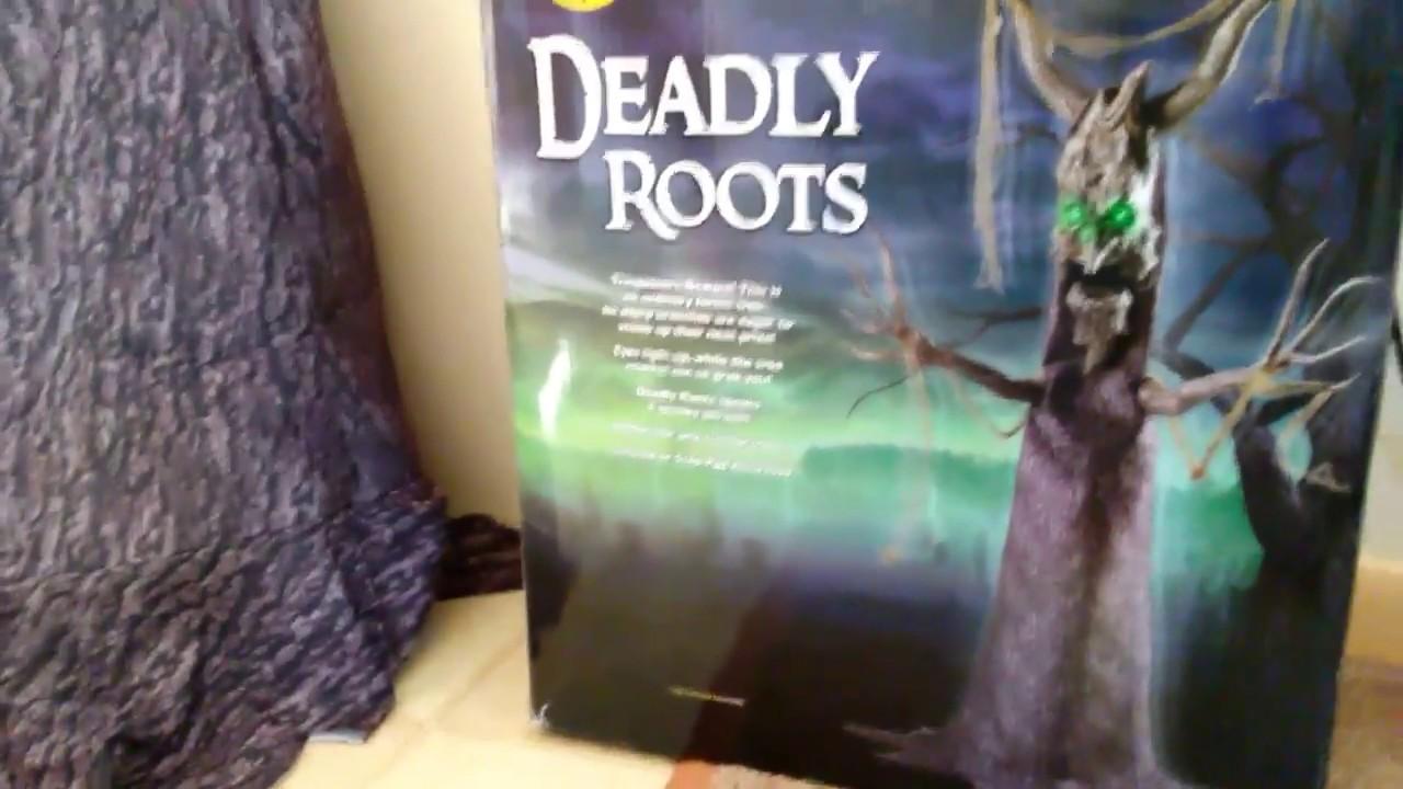 deadly roots animatronic spirit halloween 2017