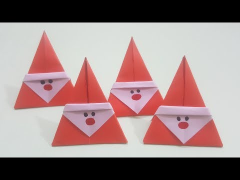DIY Santa Claus From Paper | Christmas Craft Ideas || Paper Craft Ideas #127.