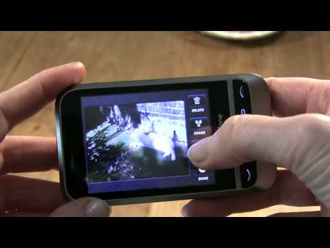 Vodafone 845 video hands-on budget Android handset
