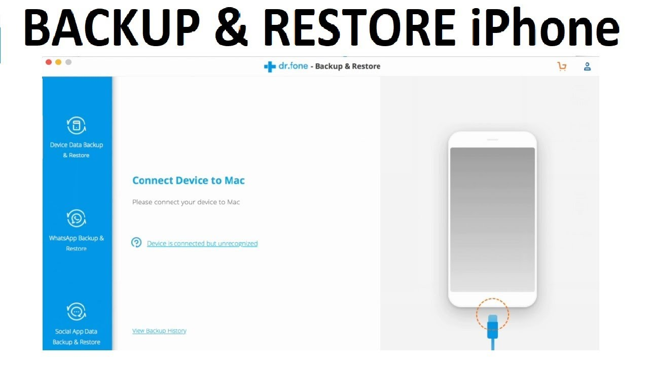Backup And Restore Iphone Contacts
