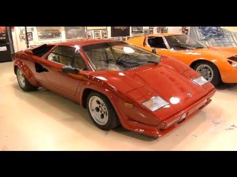 1986 Lamborghini Countach Jay Leno S Garage Youtube