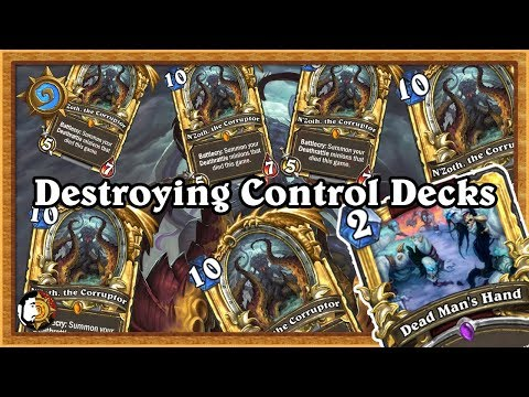 Hearthstone: Doing Dirty Things To Control Decks - N'Zoth Warrior