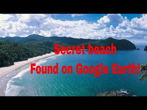 Secret Surf Beach!- Coromandel Peninsula. Google Earth FTW!