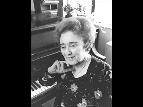 Nadia Reisenberg : Samuel Barber, Four Excursions, Op.20