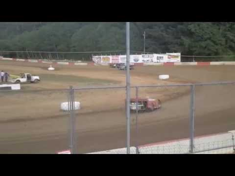 Coos bay speedway late model trophy dash 5/16/15