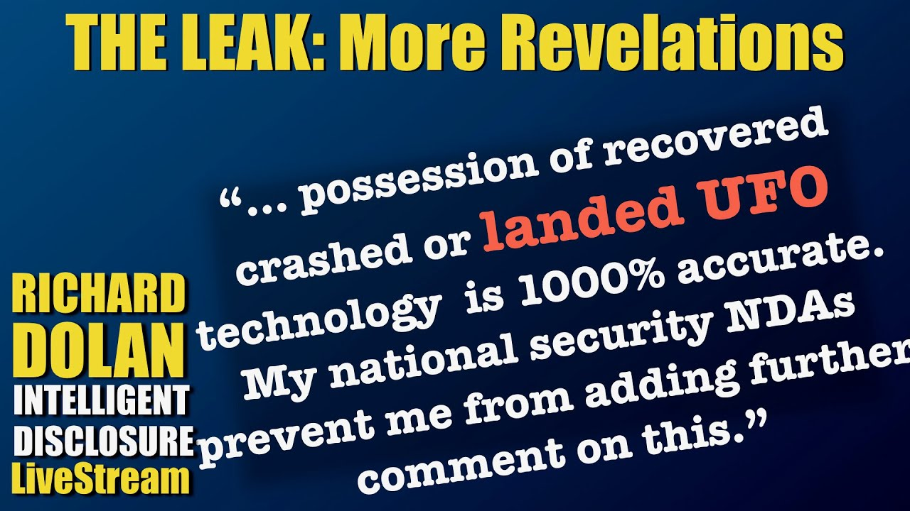The Leak: New Revelations - YouTube