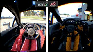 Project CARS versus Assetto Corsa | Gameplay Vergleich/Comparison