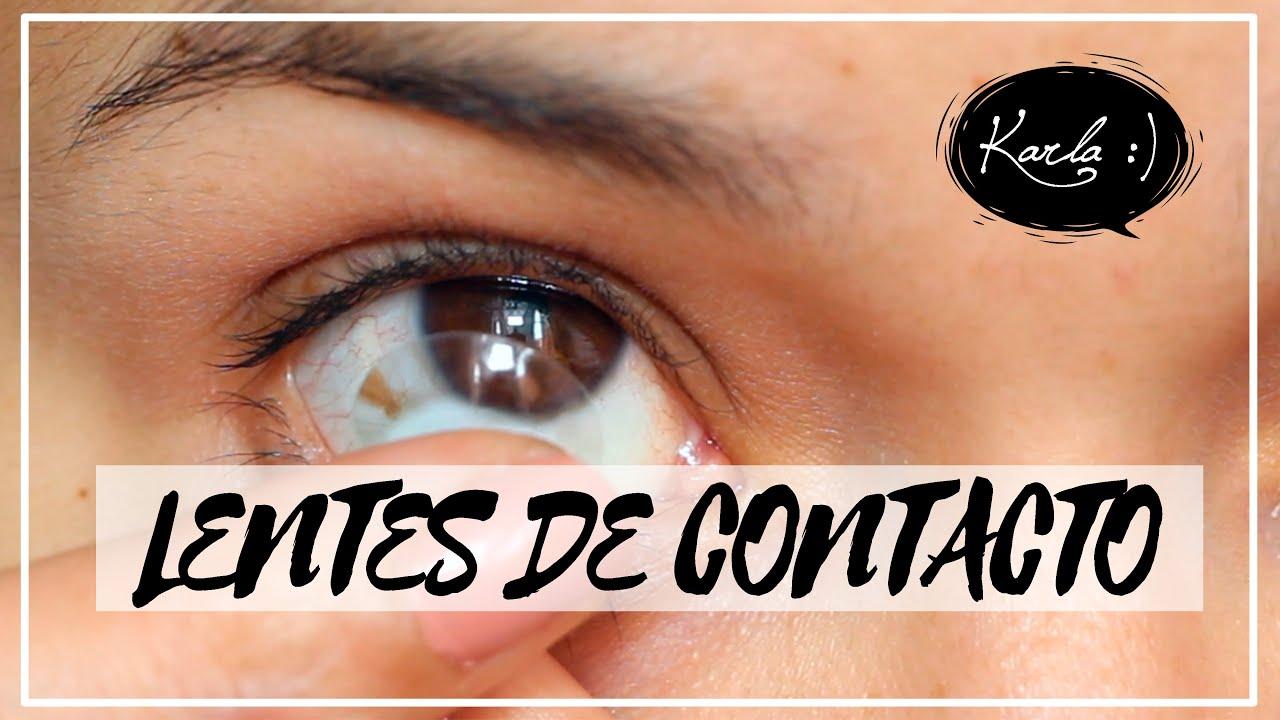 0d289ff771460 Cómo Poner y Quitar Lentes de Contacto + Preguntas Frecuentes ...