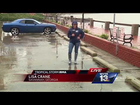 Flooding recedes in Savannah