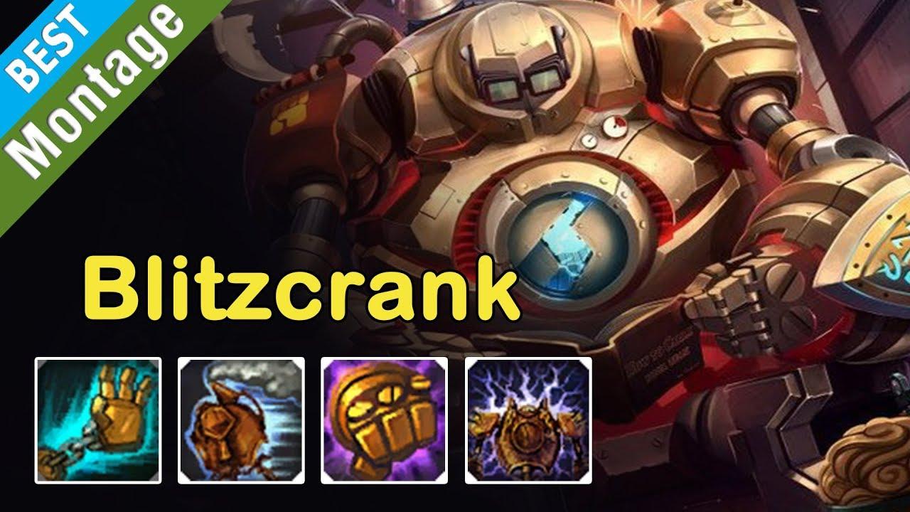 Blitzcrank Montage Best Blitzcrank Season 7 League Of Legends Youtube
