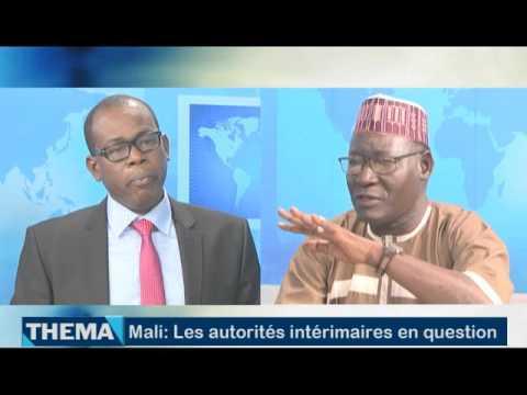 Mali: Les autorités intérimaires en question (Emission Thema Africable TV du 20 Oct. 2016)