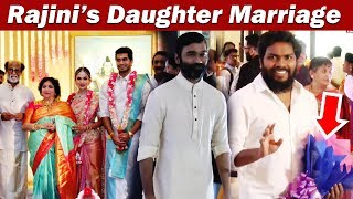Rajini's Daughter Soundharya Rajinikanth Marriage Video | ரஜினி மகள் மறுமணம் | IBC Tamil