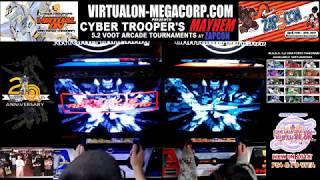 Virtual-On 5.2 Oratorio Tangram VO-MC LIVE #cybertroopersmayhem Tournament DAY 2 at ZAPCON