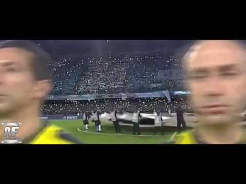 Urlo ''The Champions'' SPAVENTOSO • Napoli-Real Madrid 1-3 • Champions League 2016/17