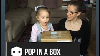 Pop in a Box - Funko pop monthly subscription unboxing april thumbnail