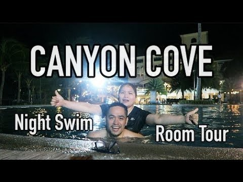 CANYON COVE DAY 1: ROOM TOUR! (NASUGBU, BATANGAS)