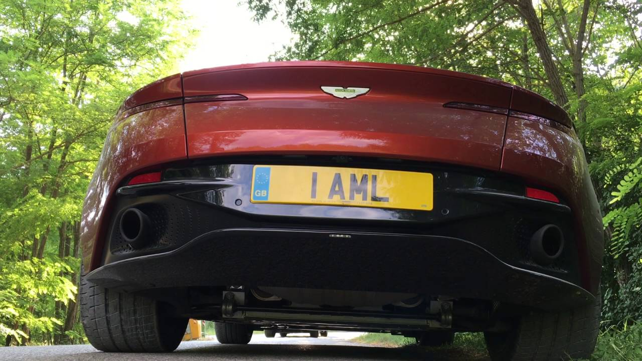 Aston Martin Db11 Exhaust Sound Youtube