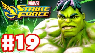 Marvel Strike Force - Gameplay Walkthrough Part 19 - HULK!