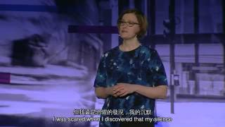 TED 中英雙語字幕:  隱藏真實自我的危險