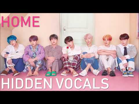 BTS - HOME (CLEAR Adora/Hidden/Background Vocals)