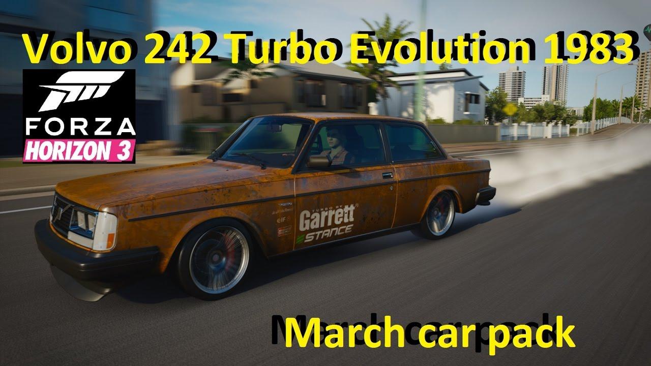 Volvo 242 Turbo Evolution 1983 Forza Horizon 3