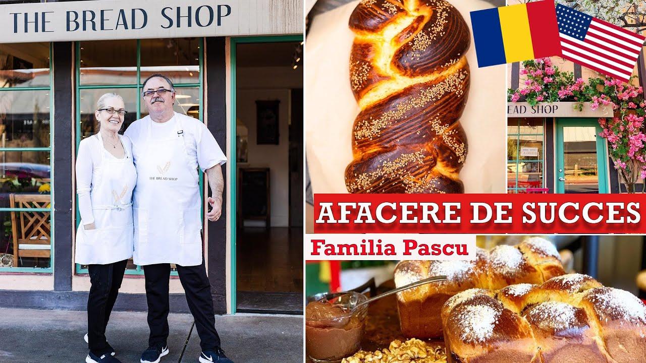 Si-au deschis brutarie romaneasca in California! Americanii, mari amatori de cozonac (INTERVIU)